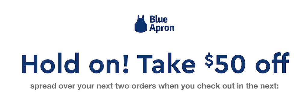 Blue Apron Deal